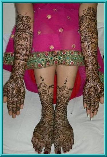 Dubai Mehndi Patterns : Mehendi design dubai style makedes