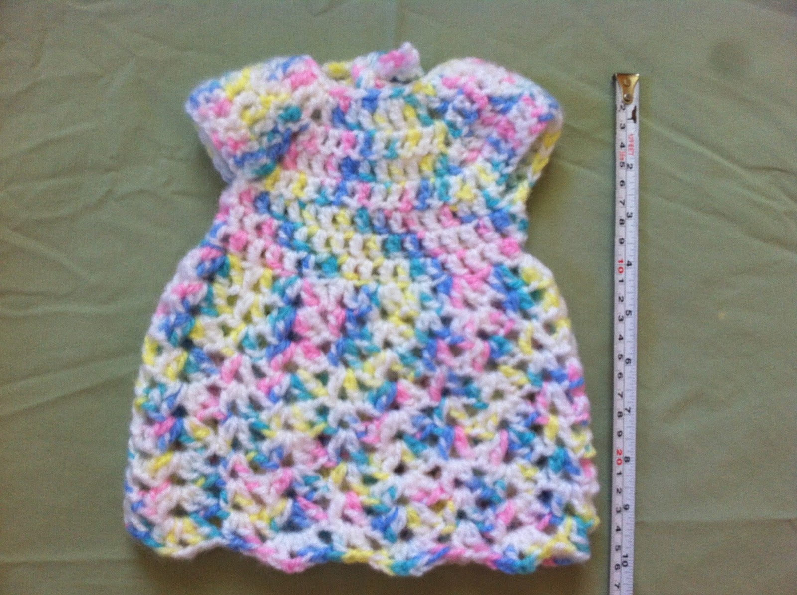 Crochet Preemie Dress - Free Pattern | Not My Nana\'s Crochet!