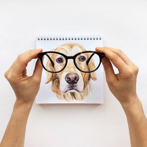 06-Is-it-Clearer-Valerie-Susik-Валерия-Суслопарова-Cats-and-Dogs-Interactive-Animal-Drawings-www-designstack-co