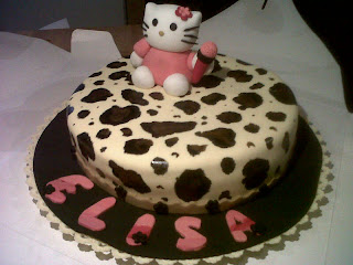 Hello Kitty fondant