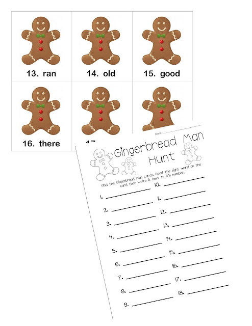 Mrs. Gilchrist's Class: Another Holiday Word Work/Center Freebie :)