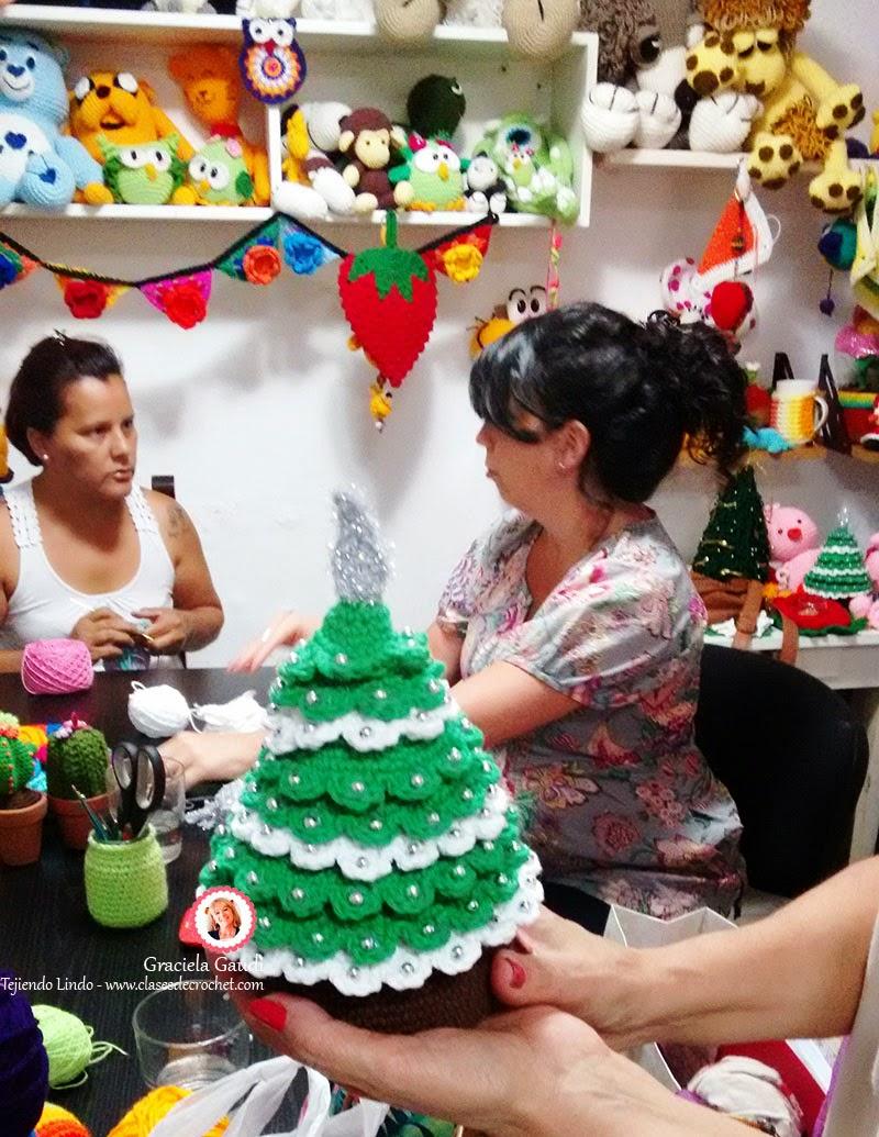 navidad crochet, decoración crochet