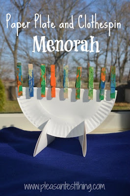 for Menorah arts and crafts