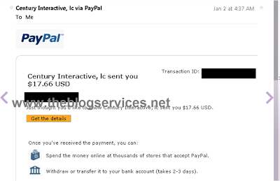 Payment Proof from Humanatic