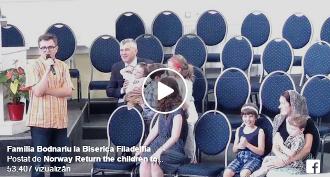 VIDEO: Marius & Ruth Bodnariu la Biserica Filadelfia Bucureşti