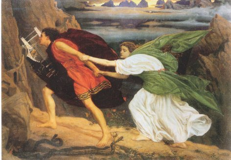 Most Famous Immortal Love Stories In History And Literature Orpheus and Eurydice