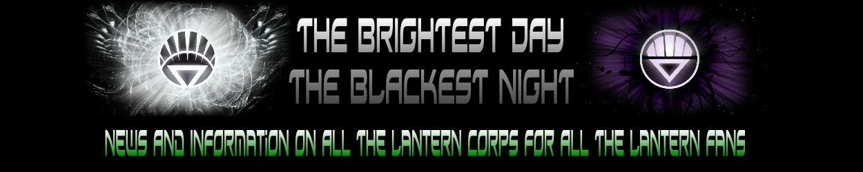 The Brightest Day The Blackest Night