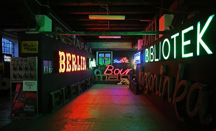 Neon Museum Warsaw, Poland