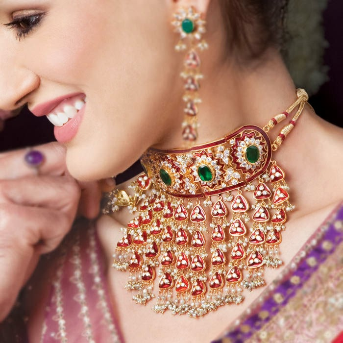 Bridal Collection Jewellery: Indian And Pakistani Bridal Jewellery Collection From