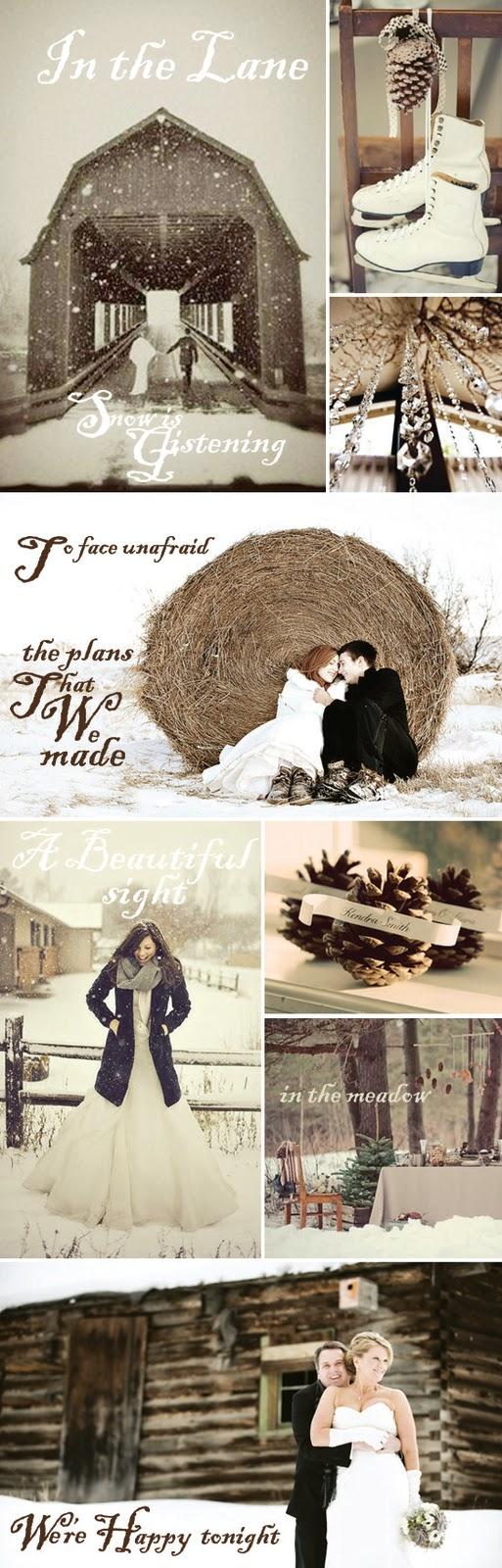 Winter Wedding Land