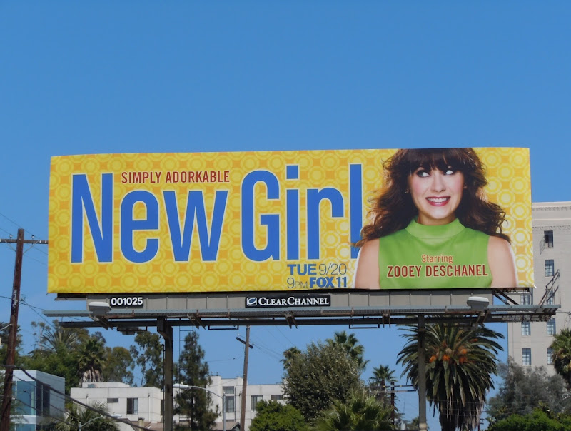 New Girl billboard