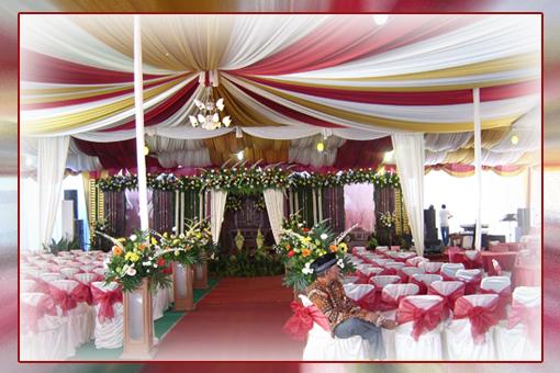 Tenda simetris jumbo tersedia bermacam-macam warna, dengan konsep semi ...