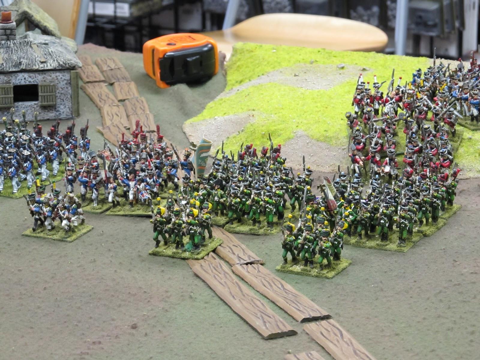 28mm Napoleonics Rules Shot Mum Rules in 28mm