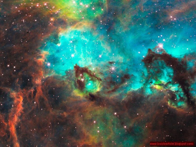 nasa nebula stars blue - photo #47