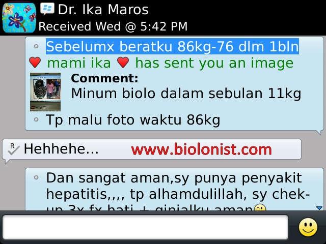 Bahaya Obat Pelangsing WSC Biolo