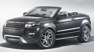 Land Rover flashes Range Rover Evoque