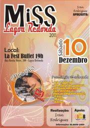 MISS LAGOA REDONDA 2011