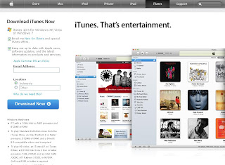 Versi Terbaru iTunes 10.5