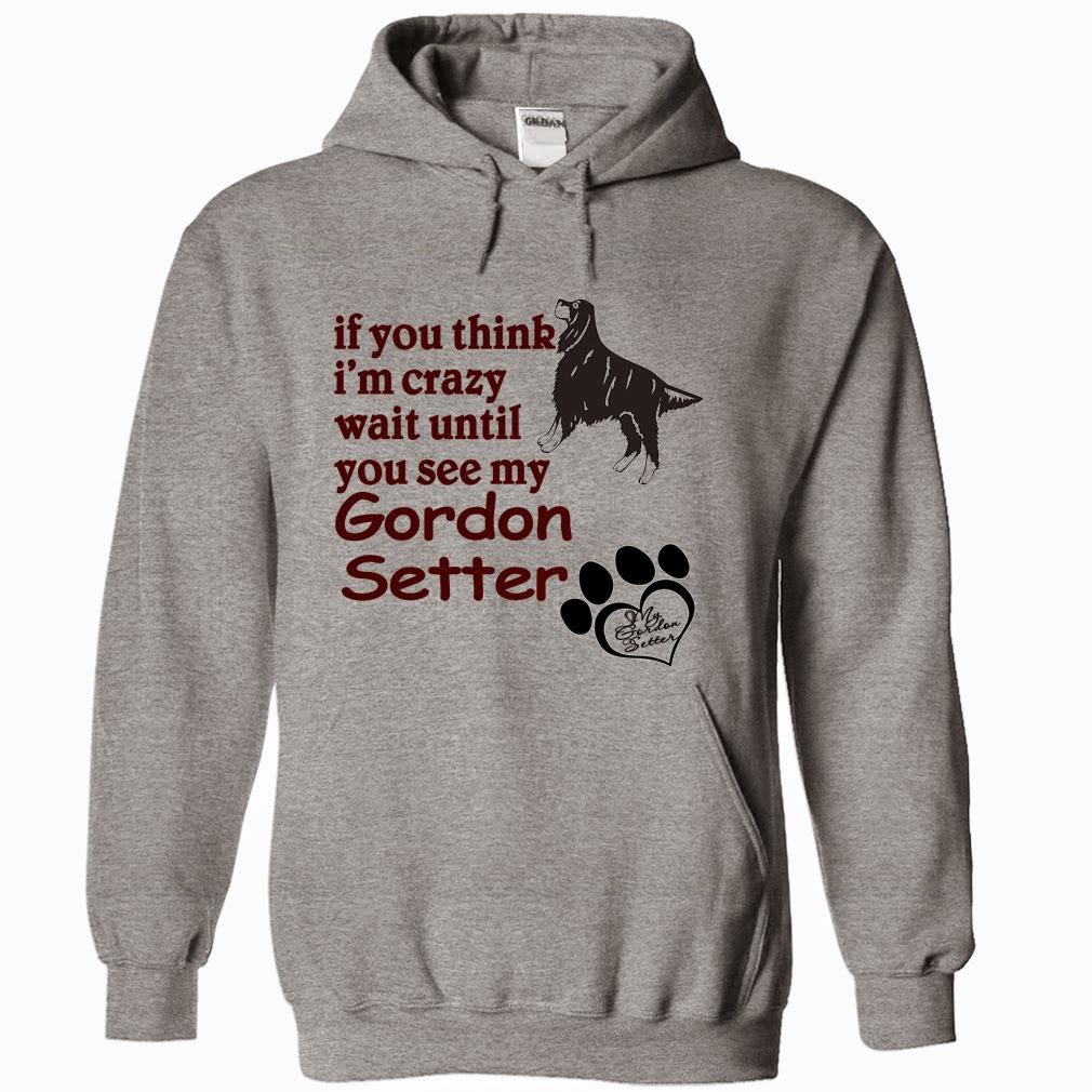 Funny Gordon Setter Hoodie