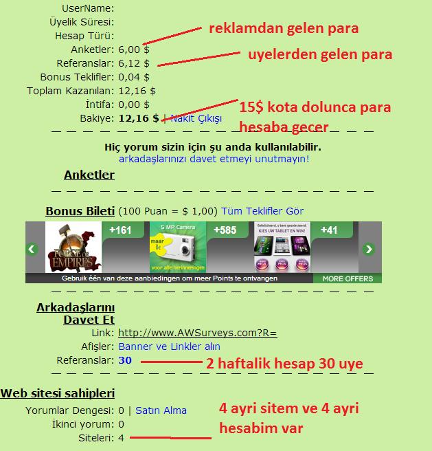 Internetten Para Kazanma Sitesi Omur Boyu Kazan