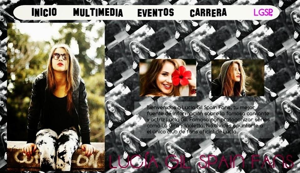 Lucia Gil Spain Fans