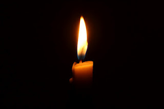 candle, darkness, light, flame, remembrance