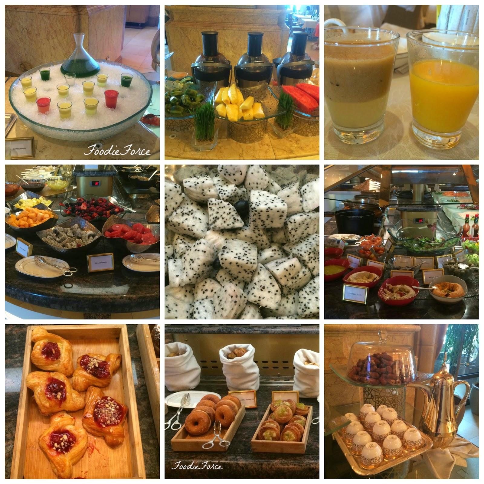 Emirate Palace breakfast