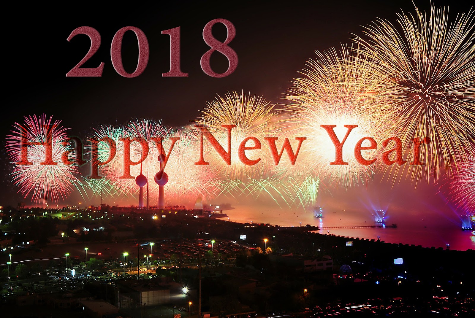 Download Happy New Year 2018 Wallpapers 50 Plus Designs