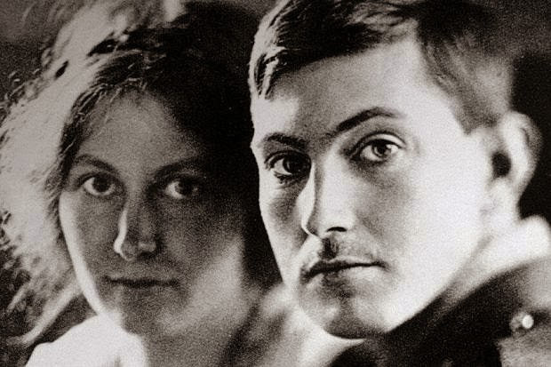 George Mallory and wife Ruth Audrey Salkeld