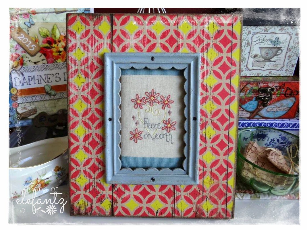 Outstanding Needlework Frames Motif - Picture Frame Ideas ...