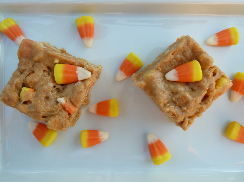Chewy Candy Corn Nutter Butter