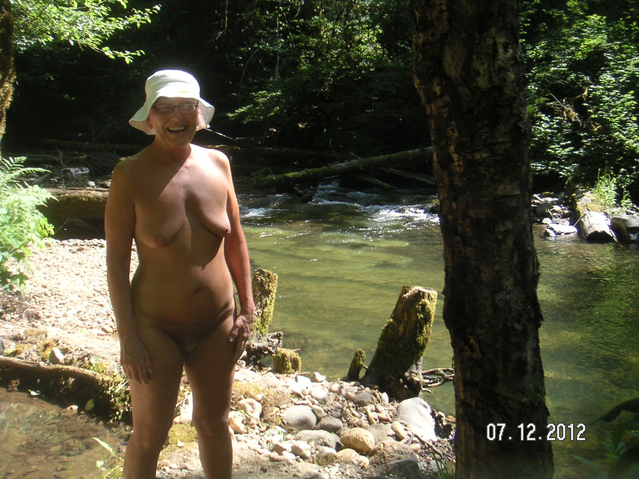 Nude Hiking And Soaking In The Pacific Northwest Winberry Creek Nude Camping And Hike By Shirley