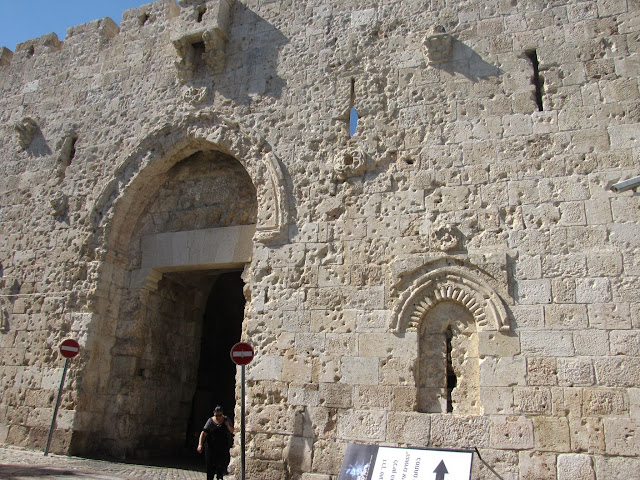 Israel, Jerusalén - Puerta de Sion