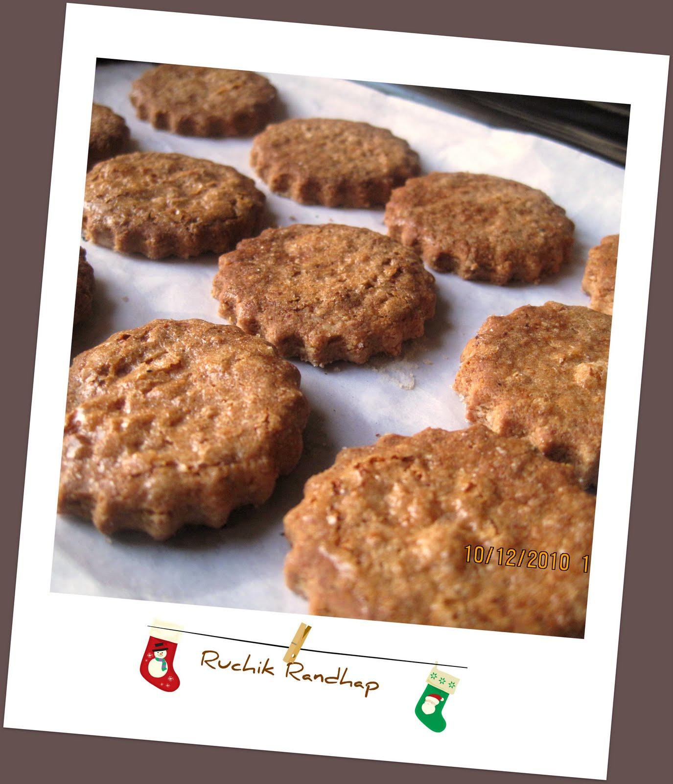 Zimtsterne German Christmas Cookies Ruchik Randhap