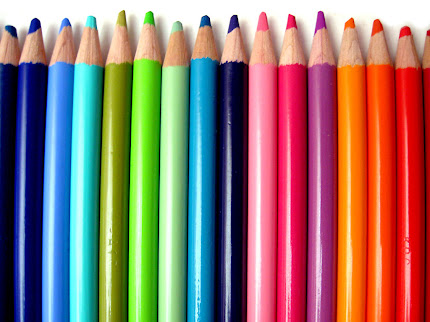 Gambar-Gambar Pensil Warna Cantik | wallpaper