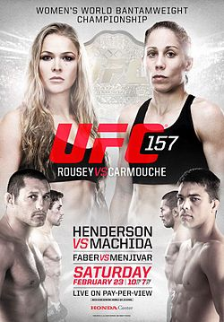 UFC 157 Rousey vs. Carmouche