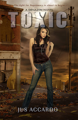 Cover Reveal: Toxic (Denazen Book 2) by Jus Accardo!