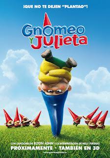 Cartel de la película Gnomeo y Julieta