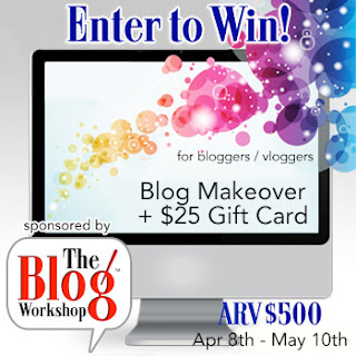 Blog Workshop Giveaway
