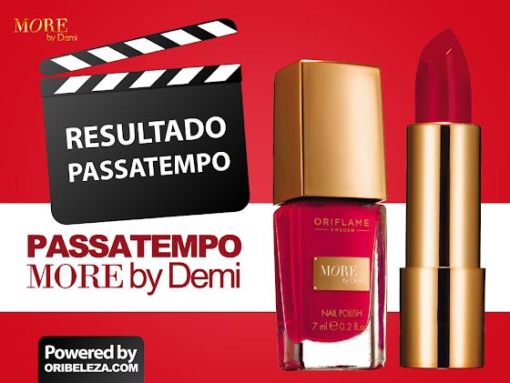Resultado Passatempo More by Demi