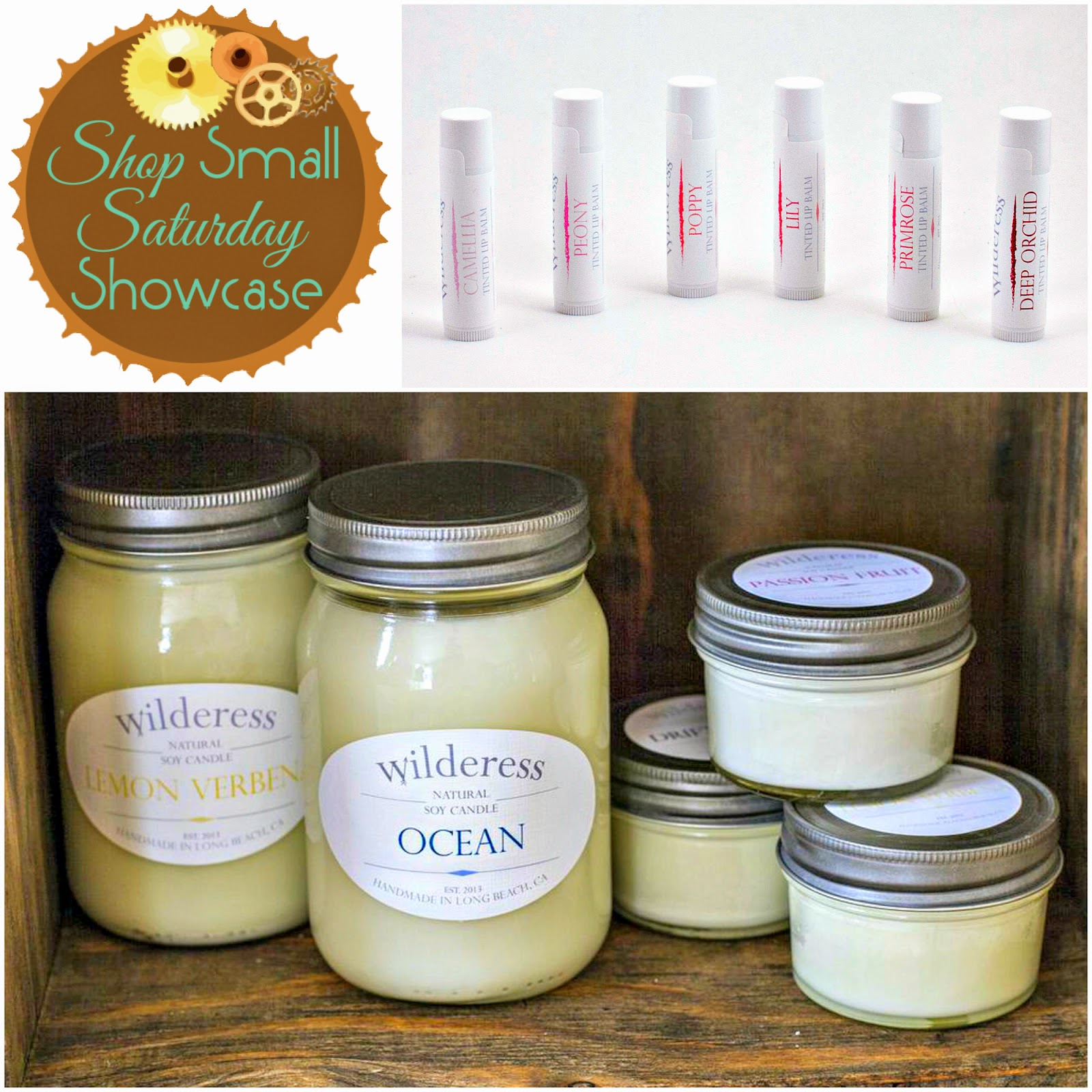 Wilderess Candles & Jewelry Shop Small Saturday Showcase Feature on Diane's Vintage Zest!