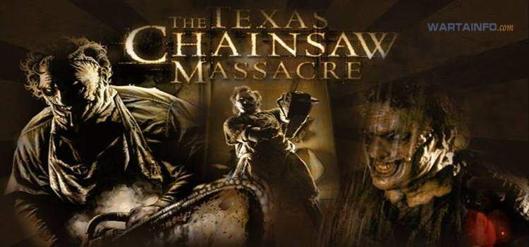poster The Texas Chainsaw Massacre Film Horor terseram terbaik menegangkan