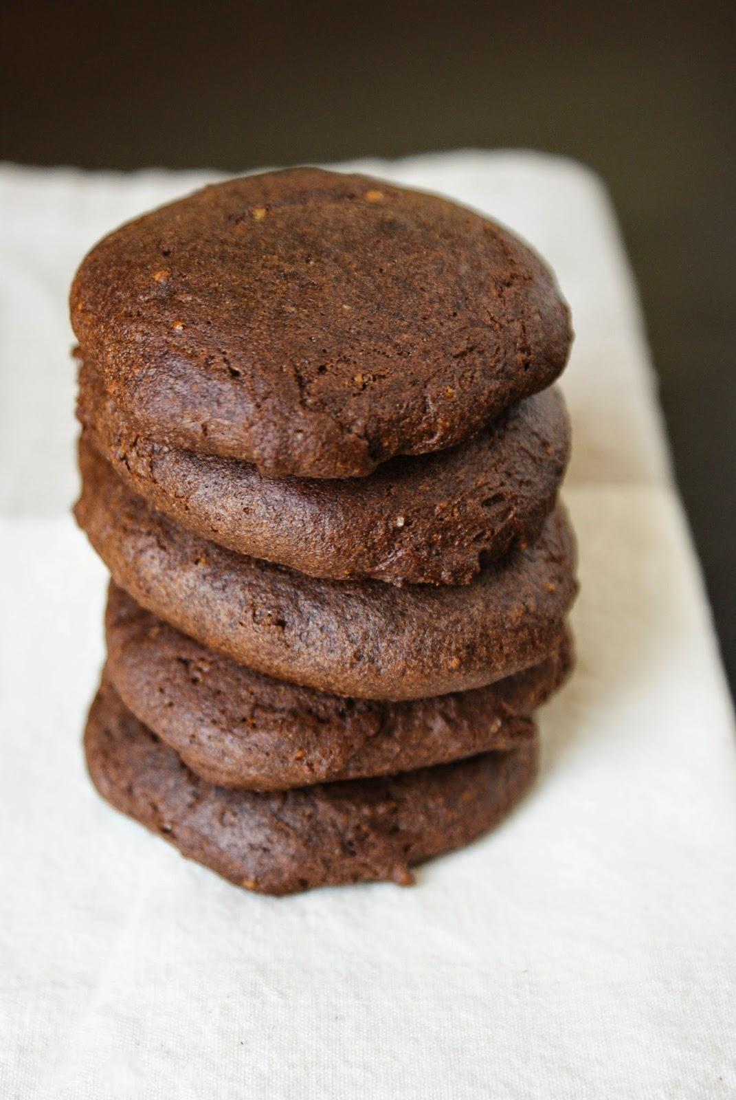 GF Dark Chocolate Caramel Cookies