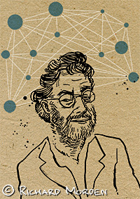portrait of Iain M Banks