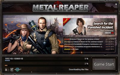 Metal Reaper Online - Client Patch
