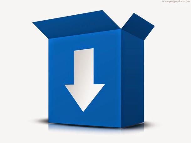 Download Software Box PSD