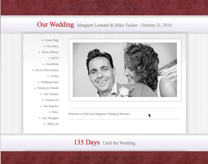 Love Notes: Tips for Creating Your Wedding Website