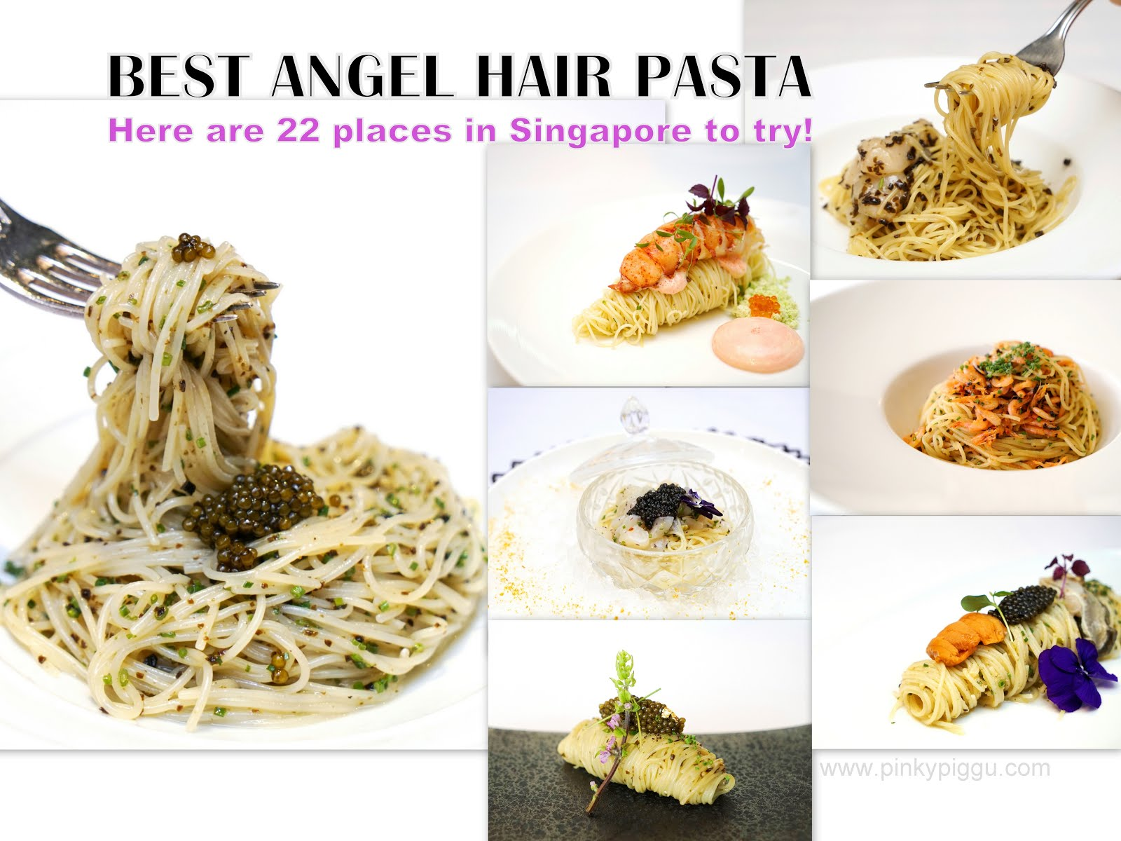 BEST ANGEL HAIR PASTA! Here are 22 places in Singapore to try!