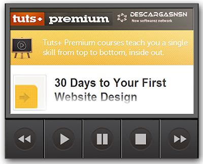 Tutsplus: 30 Days to Your First Website Design
