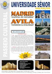 Viagem de Final de Ano (Madrid - Avila)